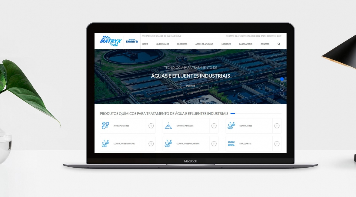 Case de Website Matryx
