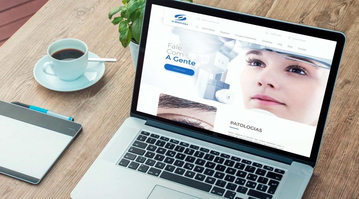 Criação Website Dr. Sérgio Isola