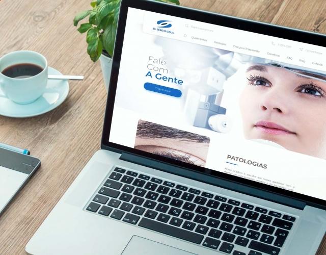 Desenvolvimento Website Dr. Sérgio Isola