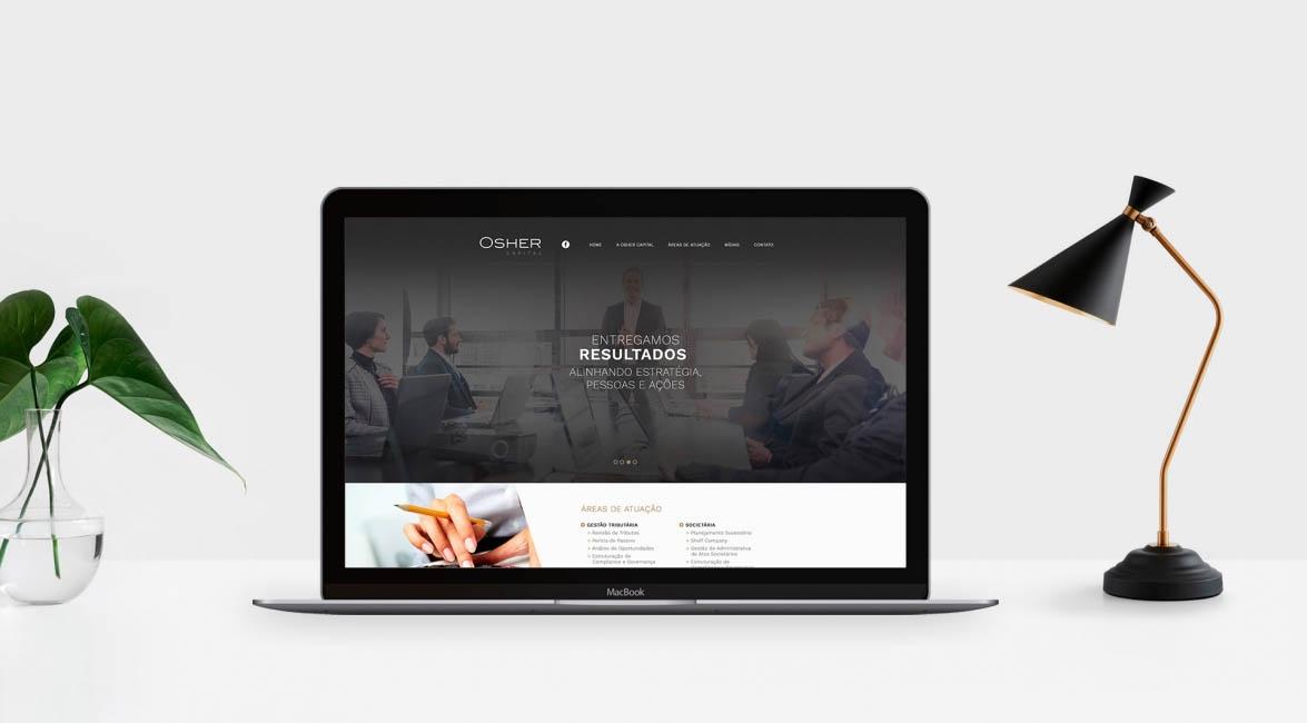 Case de Website Osher Capital