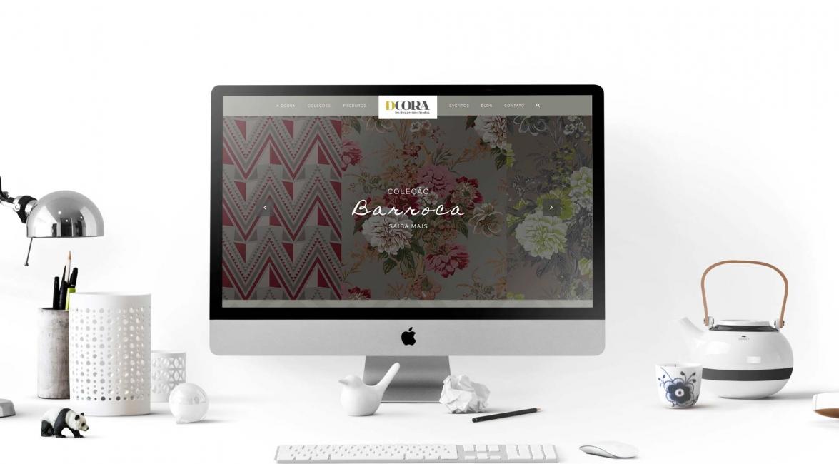 Desenvolvimento Website Dcora