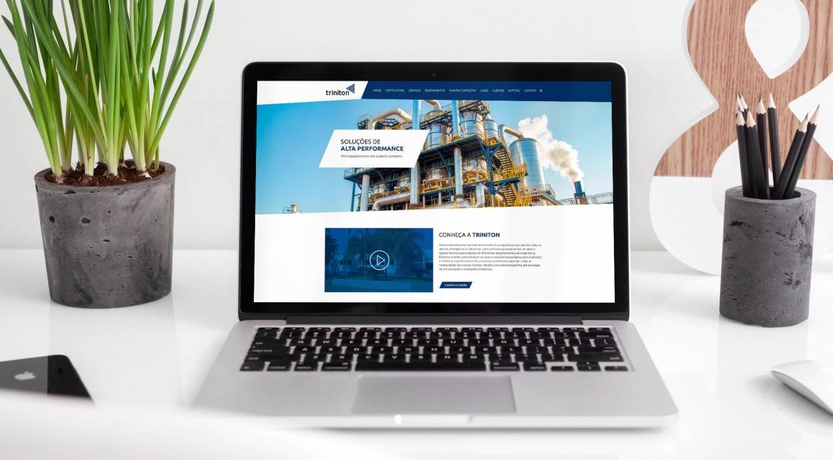 Case de Website Triniton