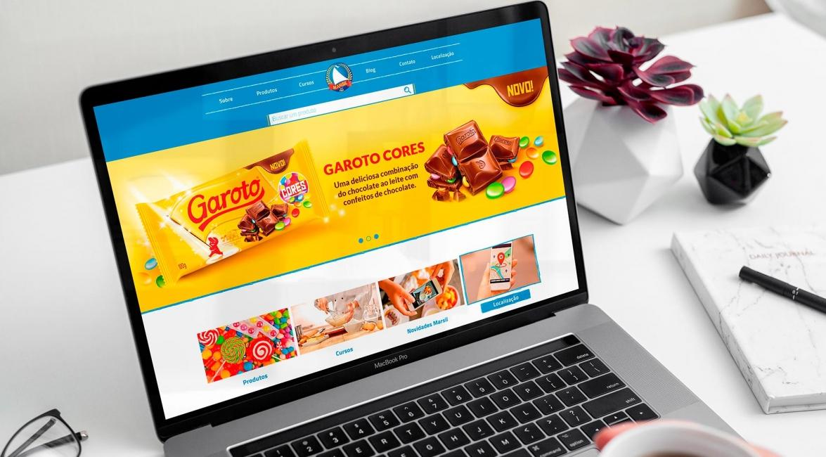 Criação Website Marsil