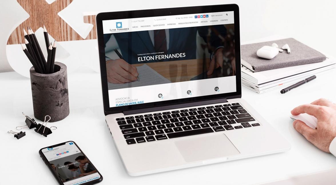 Case de Website Elton Fernandes