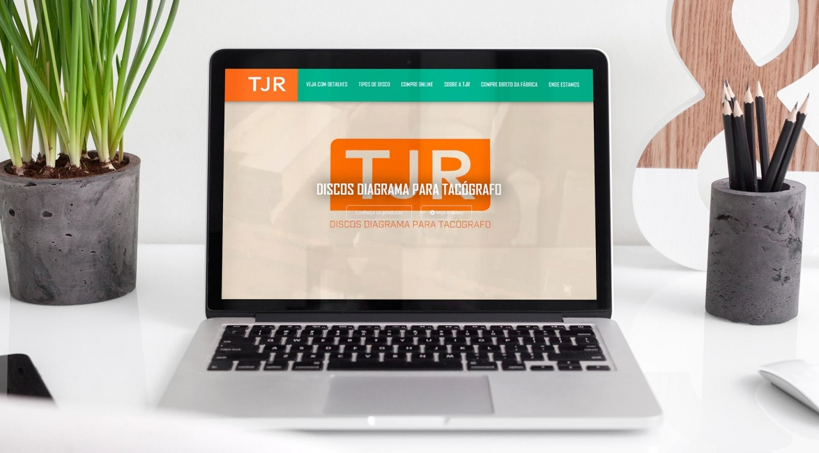 Case de Website TJR - LP