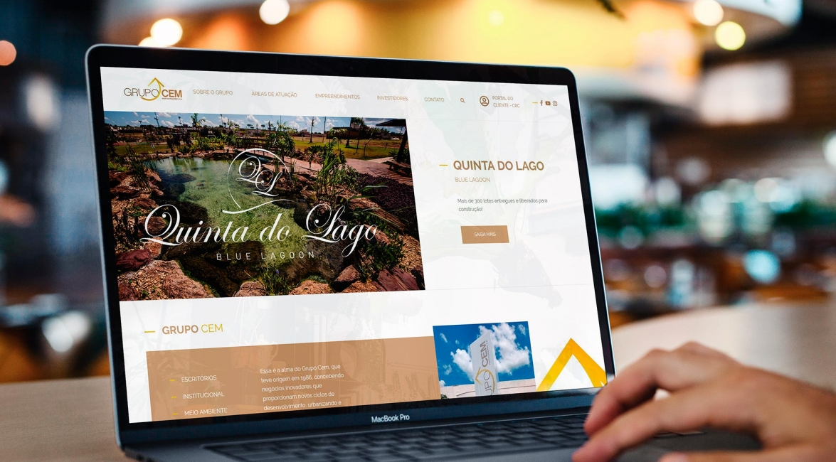 Case de Website Grupo Cem