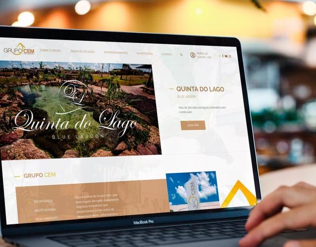 Case de Website Grupo Cem