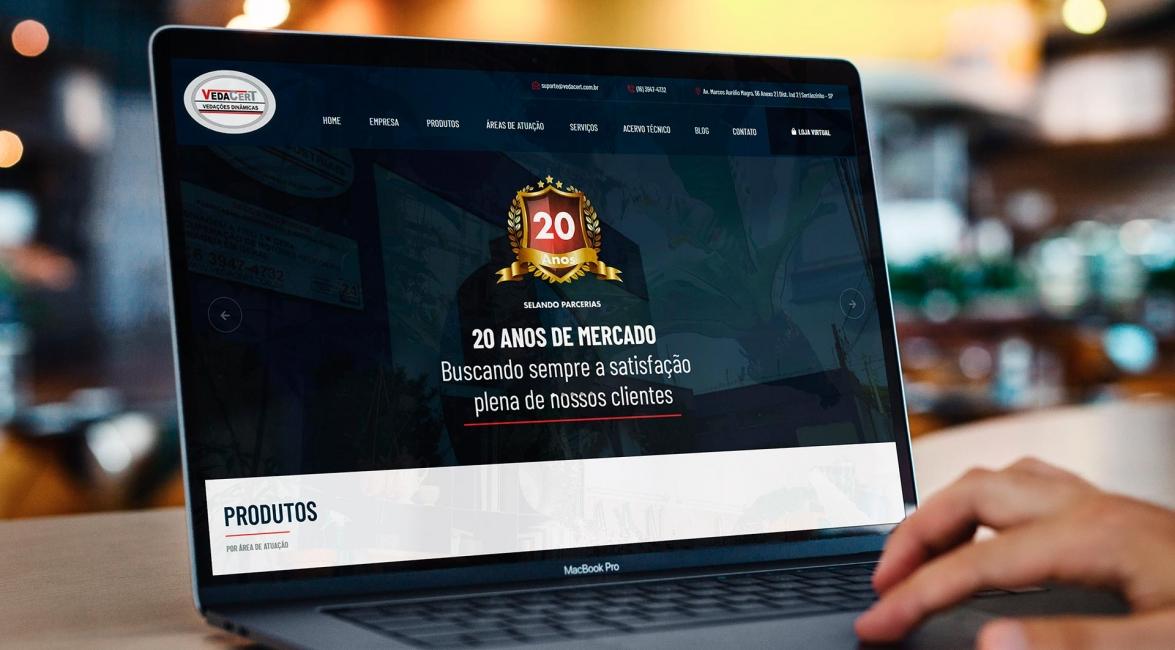 Criação Website VedaCert
