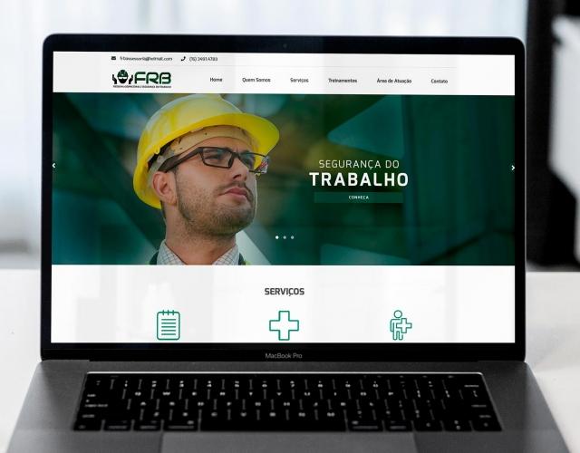 Criação Website FRB Medicina Ocupacional