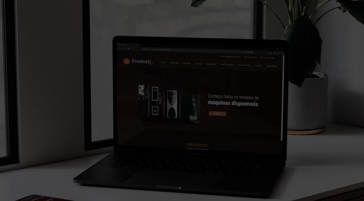 Criação Website Prodotti