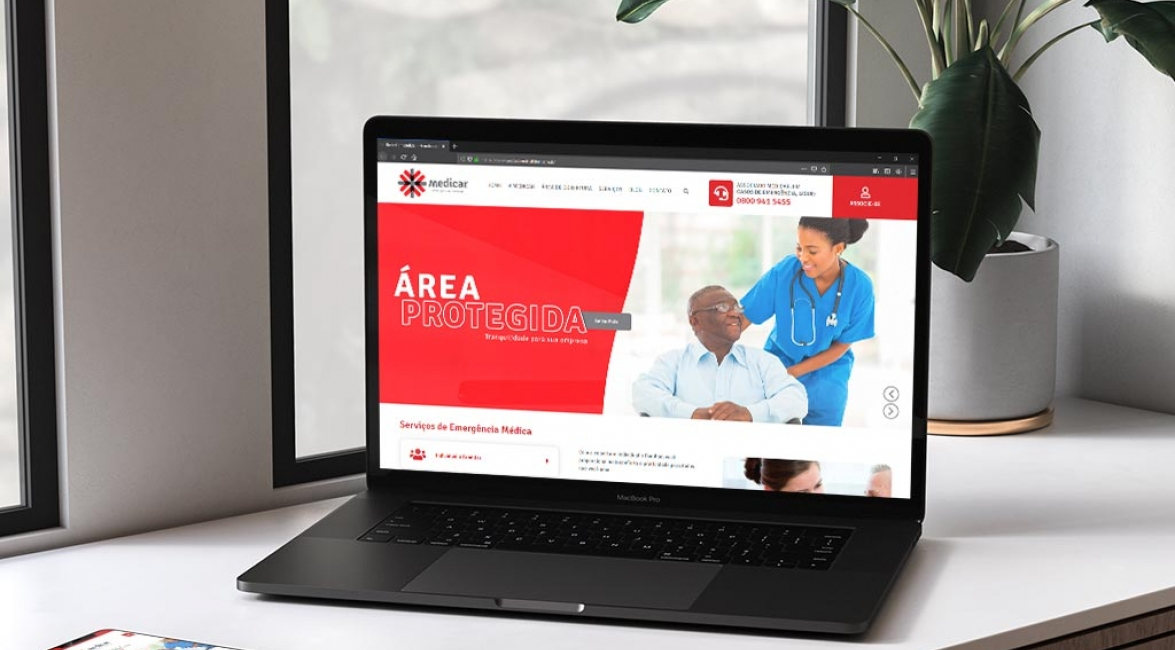 Case de Website Medicar