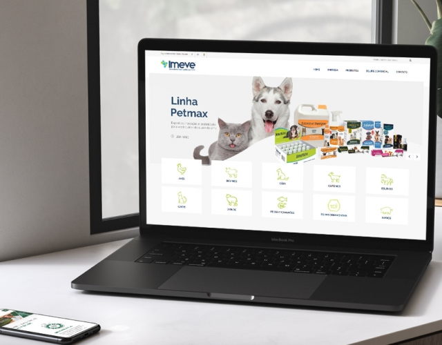 Case de Website Imeve