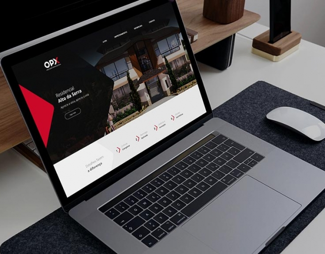 Case de Website OPX Incorporada