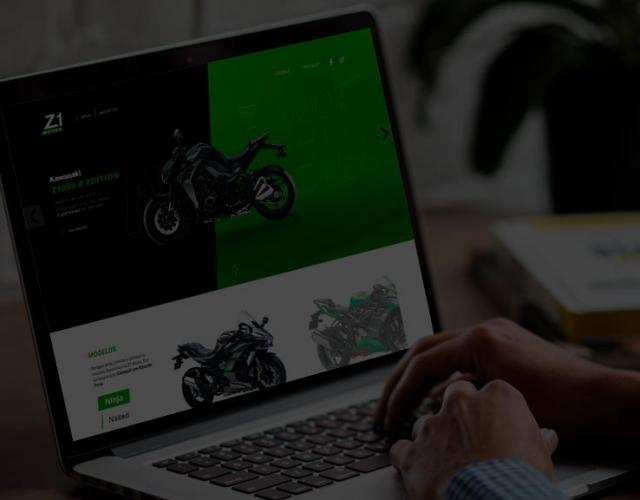 Case de Website Z1 Motos