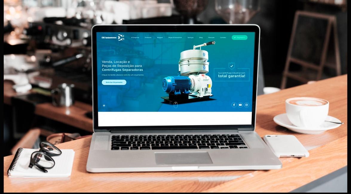 Marketing Digital da CDC Equipamentos