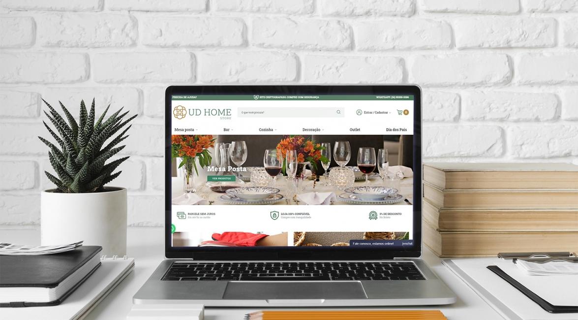 Marketing Digital da UD Home Store