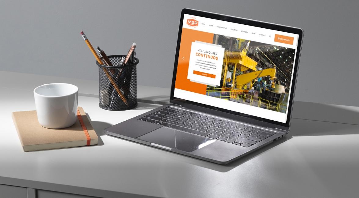 Marketing Digital do Grupo MSP